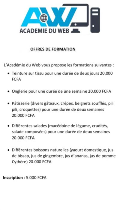 formations agro alimentaire academie